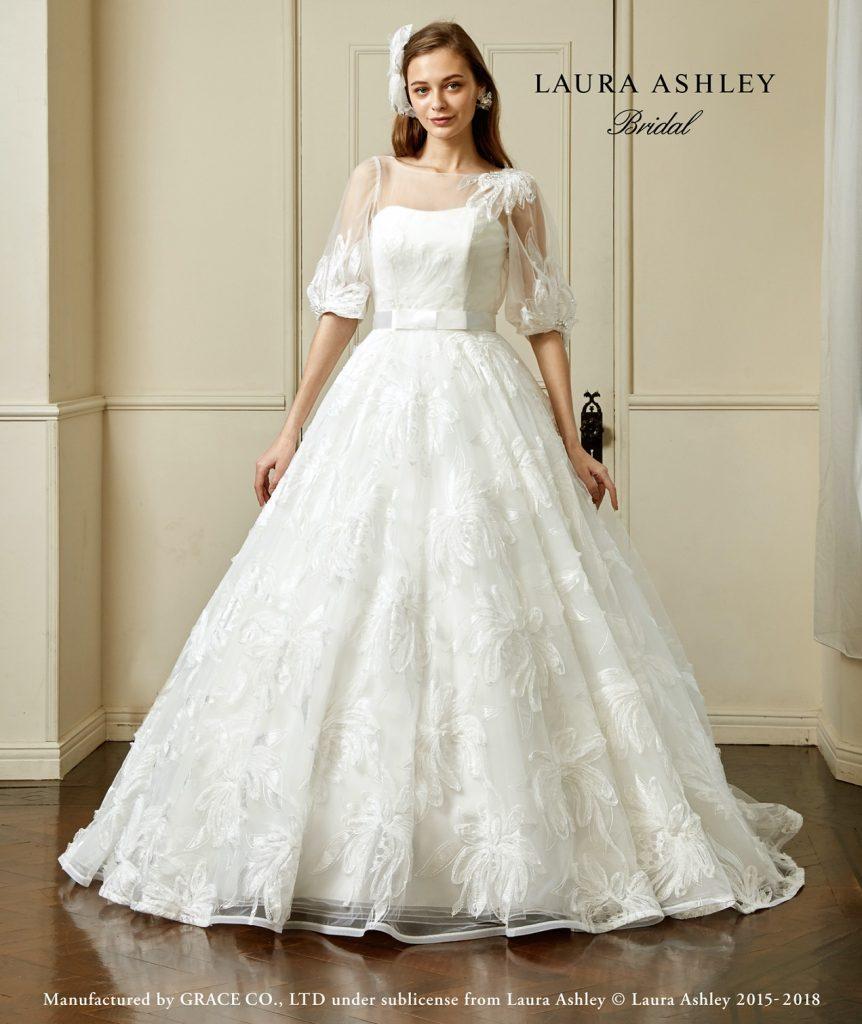 ウェディングドレスは袖付きにする 袖ありドレスの種類やメリット